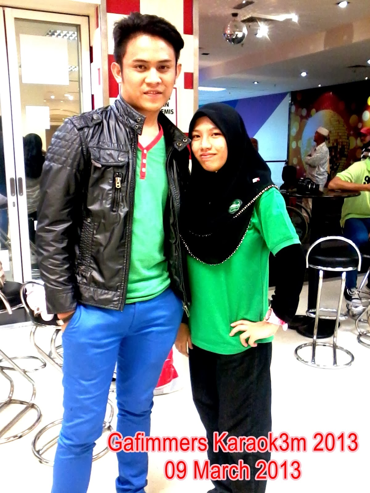 With Akim Ahmad