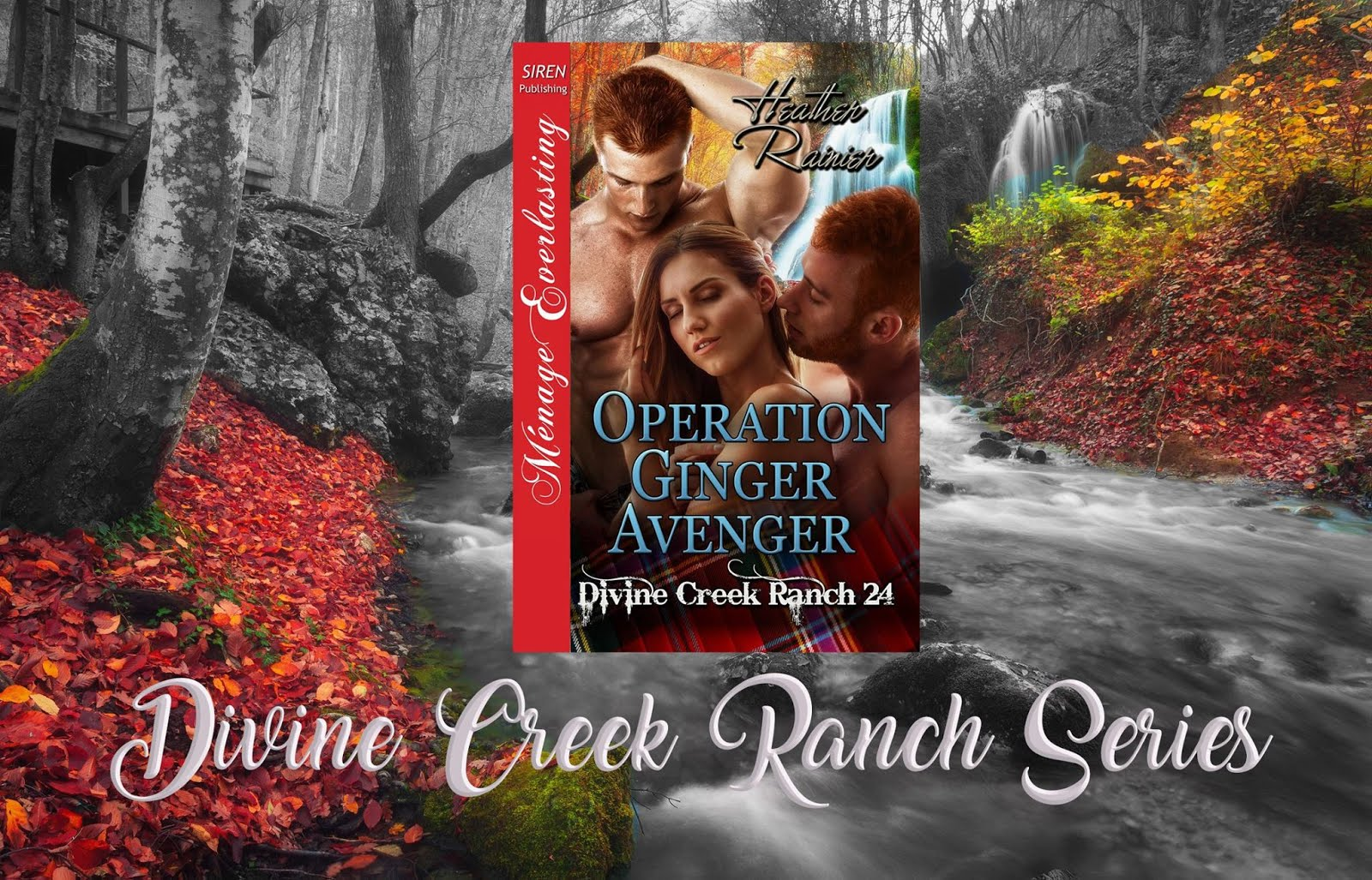 Operation Ginger Avenger by Heather Rainier