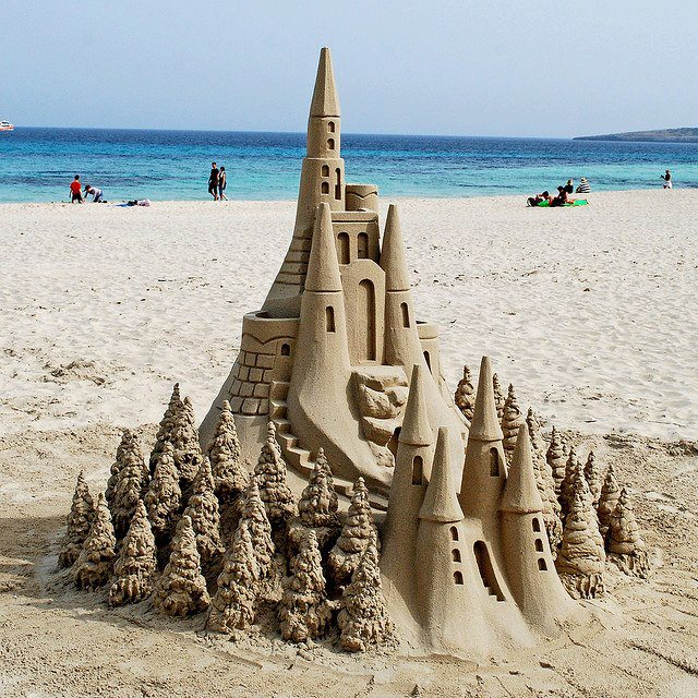 Awesome Sand Art Sand Castle