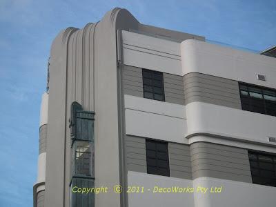 Chaffer's Dock main facade