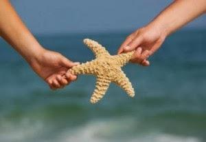 Bintang Laut dan Seorang Anak Kecil