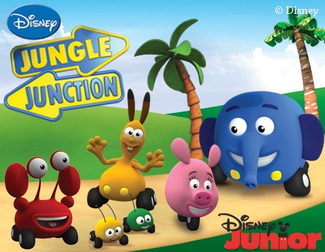 Jungle Themed Junction Characters Christopher S 1st