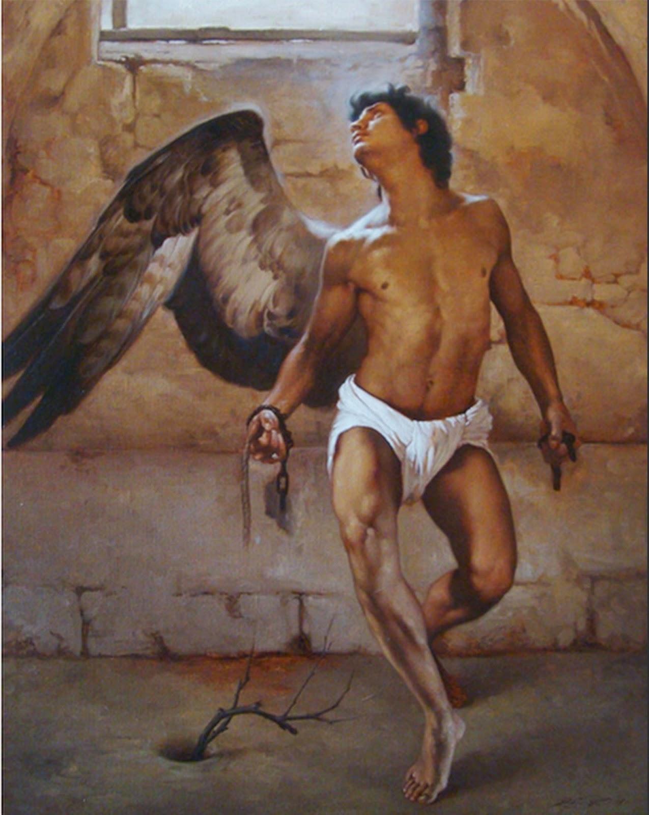 angeles-desnudo-pinturas-al-oleo