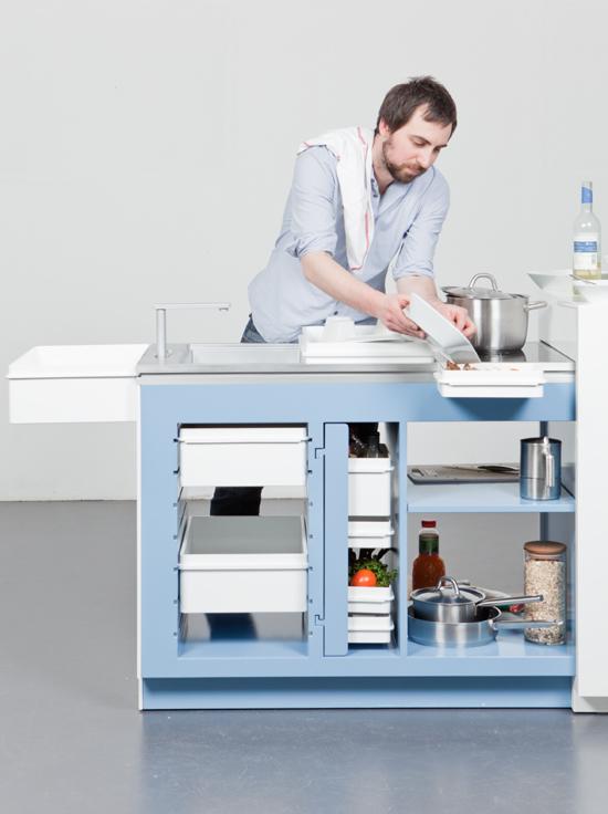 Design classic interior 2012 mesa de cocina funcional - Mesas de cocina diseno ...