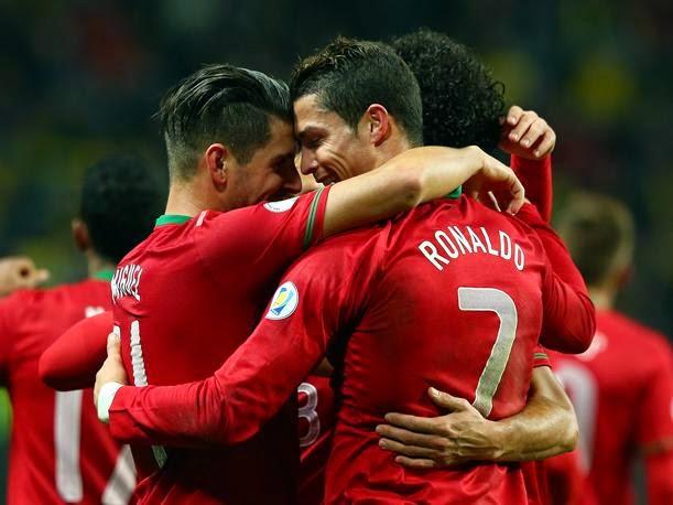 Ver partido Portugal Cristiano Ronaldo Mundial Brasil 2014 en vivo gratis online. Páginas web fútbol en directo sin cortes World Cup.