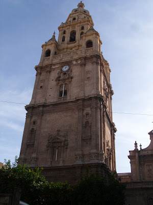 SANTA MARIA BELLTOWER MURCIA