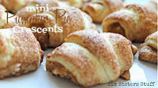 Six Sisters Stuff Mini Pumpkin Pie Crescents