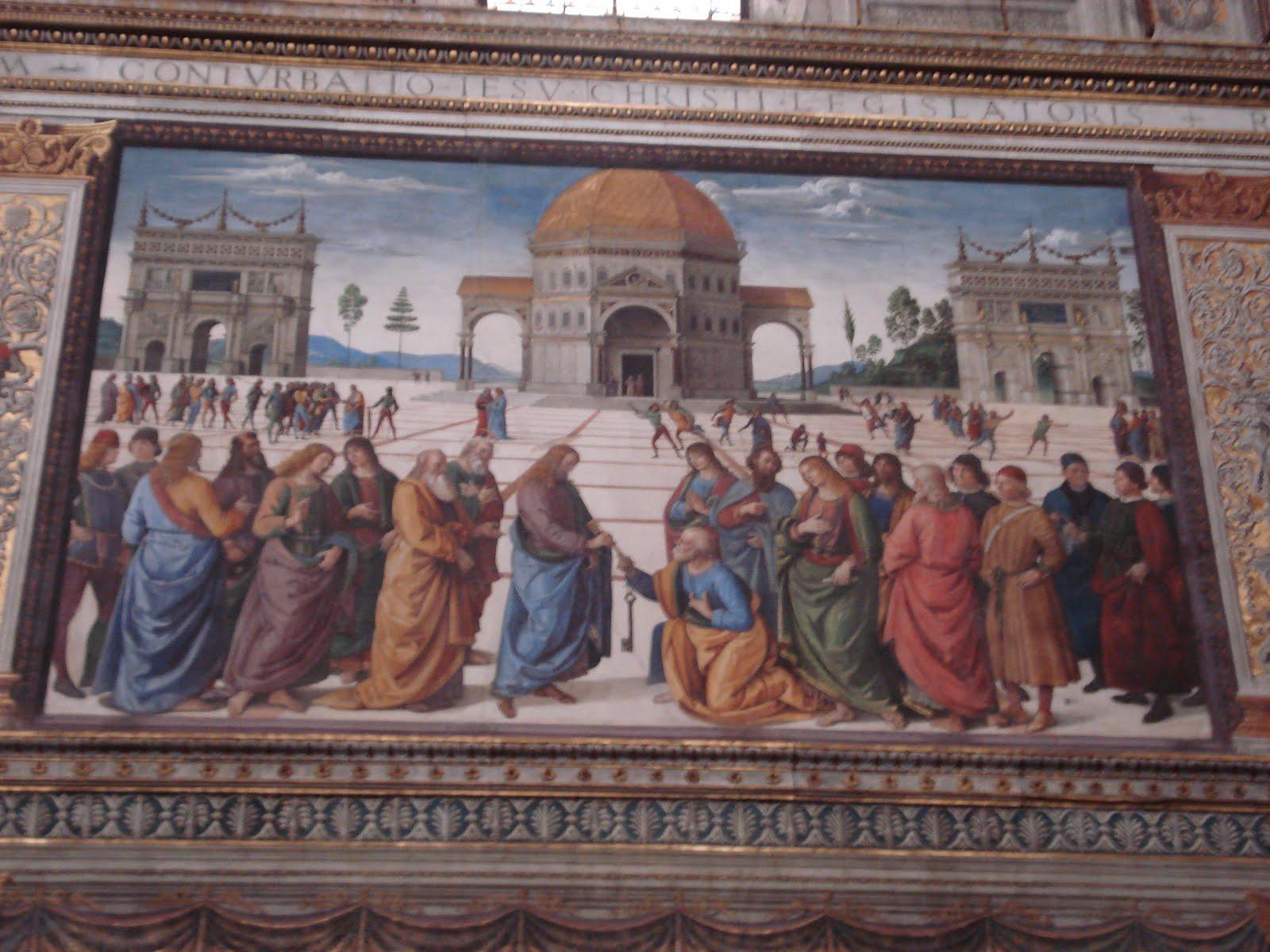 Anyone speak meghanese for Decorazione quattrocentesca della cappella sistina