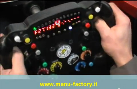 Volante F1 manu factory