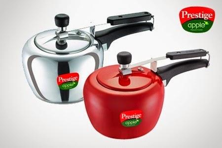 Groupon : Polished Prestige Apple Cooker 2Ltr  worth Rs.1090 at Rs. 815