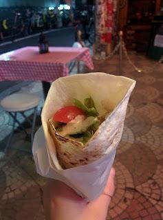 Vegetarian Falafel Shibuya