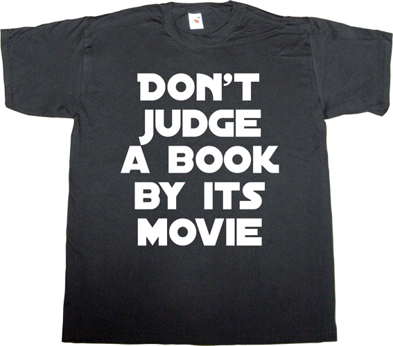 fun movie book t-shirt ephemeral-t-shirts