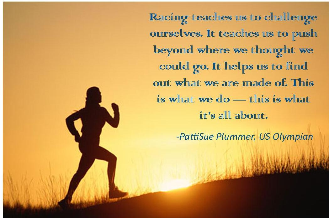 inspirational quotes about running a race quotesgram