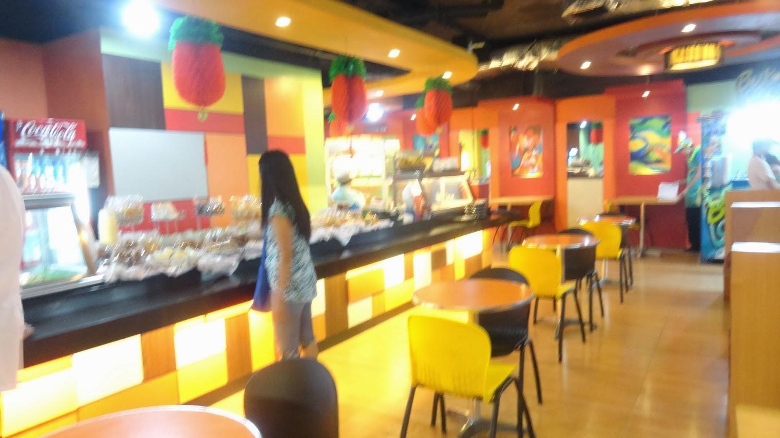 food court of Cardinal Santos Hospital.katzlifechapters