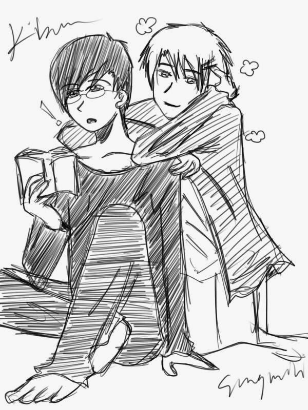 Anime Couple Sahabat