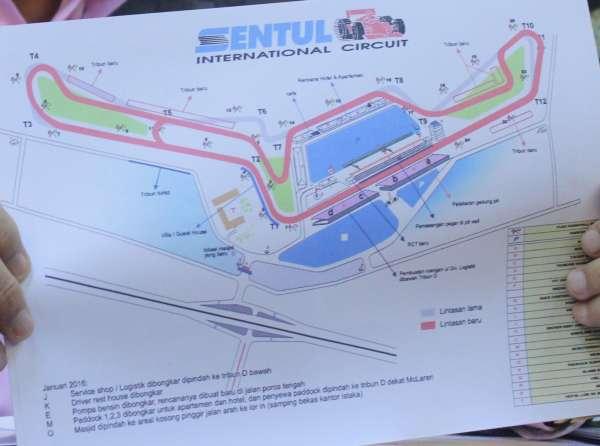 Inilah Master Plan Sirkuit Sentul Untuk MotoGP 2017 Di Indonesia