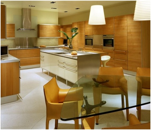 Wooden furniture for a modern and elegant kitchen