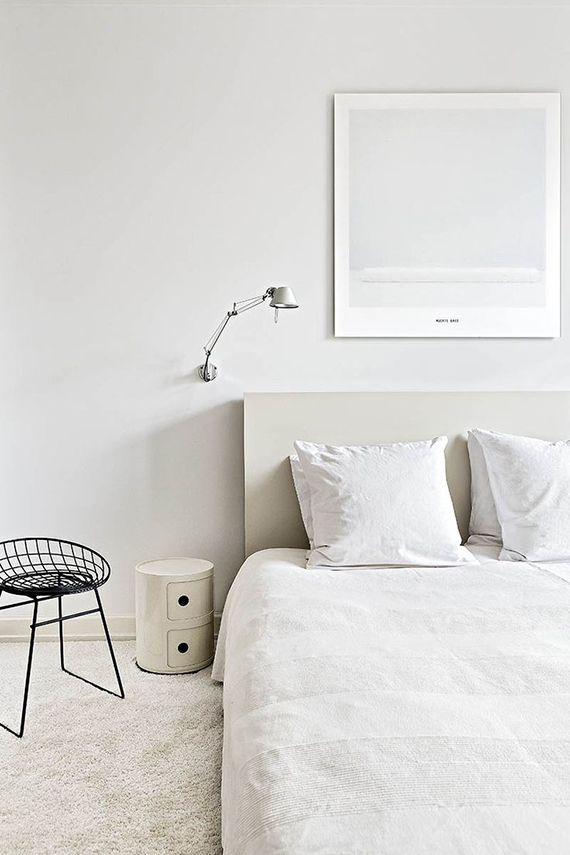 Modern white bedrooms inspiration | Photos ricardo labouble for Architectural Digest Espana