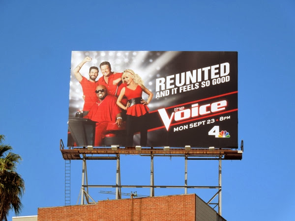 The Voice season 5 billboard