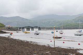 Iron Bridge at Barmouth, North Wales
