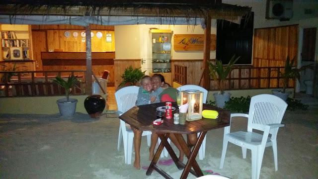 Última noche en Las Maldivas