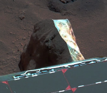 Fake Rock On Mars!