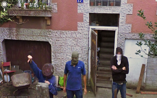 mafia on street view