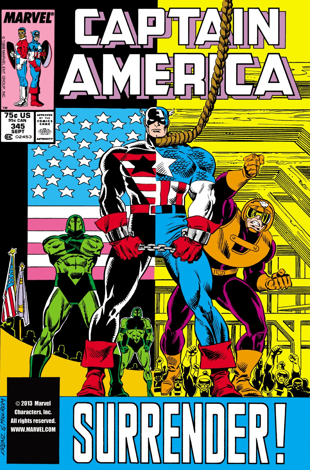 Captain America (1968) Issue #345 #275 - English 1