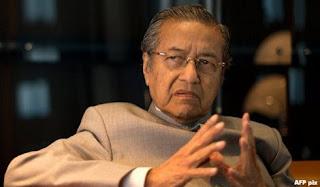 Bekas perdana menteri Tun Dr Mahathir Mohamad