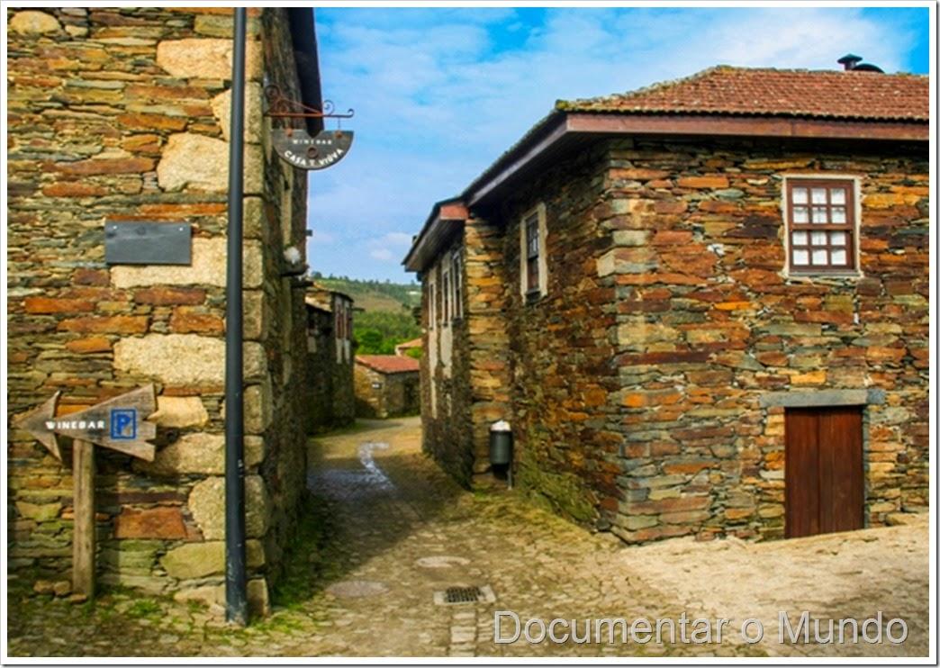 Aldeia preservada de Quintandona