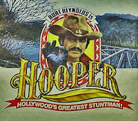 The picture above is a movie poster for the film Hooper