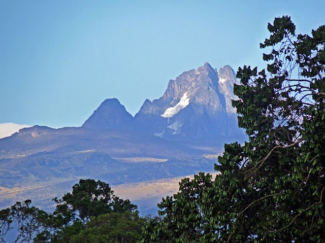 Buy Wall Art of Mount Kenya