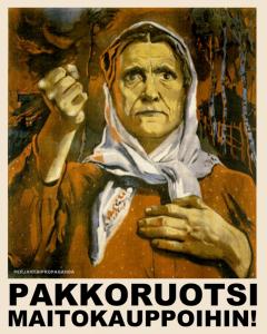 Den som inte talar svenska bör inte heller kunna handla mat.