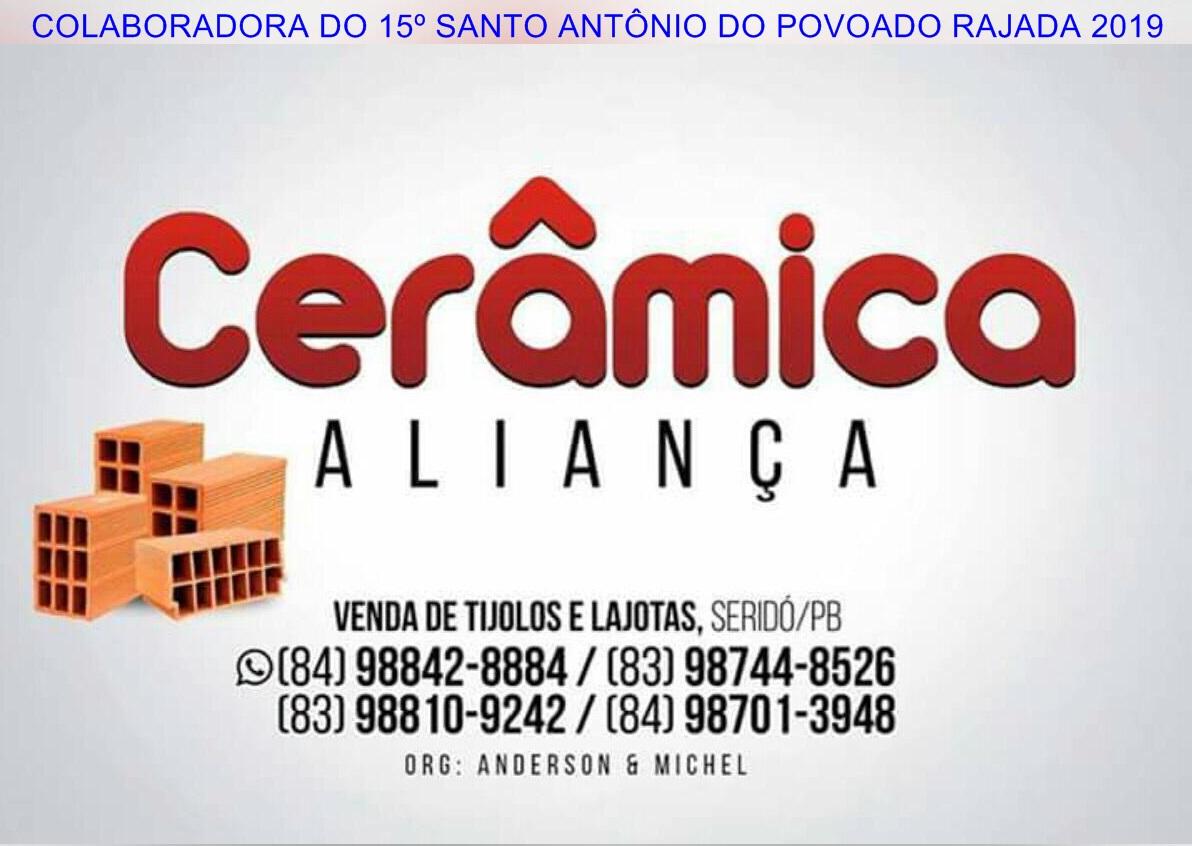 PUBLICIDADE: CERÂMICA ALIANÇA SERIDÓ PB