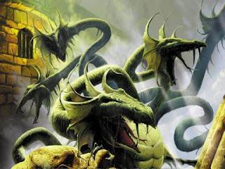 kebenaran keberadaan monster Naga berkepala sembilan
