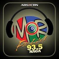 MOR Naga DWAC 93.5 MHz logo