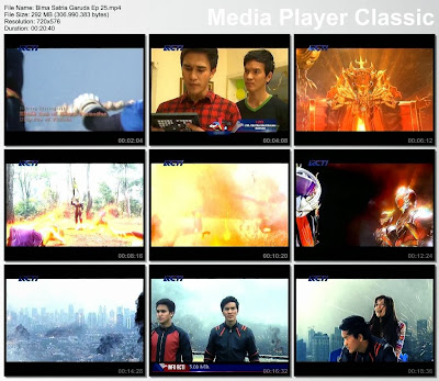 BIMA Satria Garuda Episode 25 RAW Full [15-12-2013]