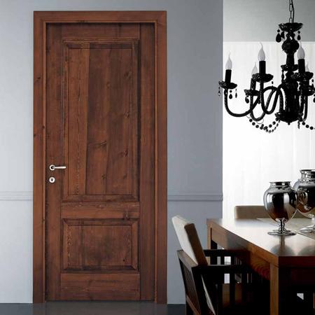 Arredo in porte in legno massello - Porta in legno massello ...