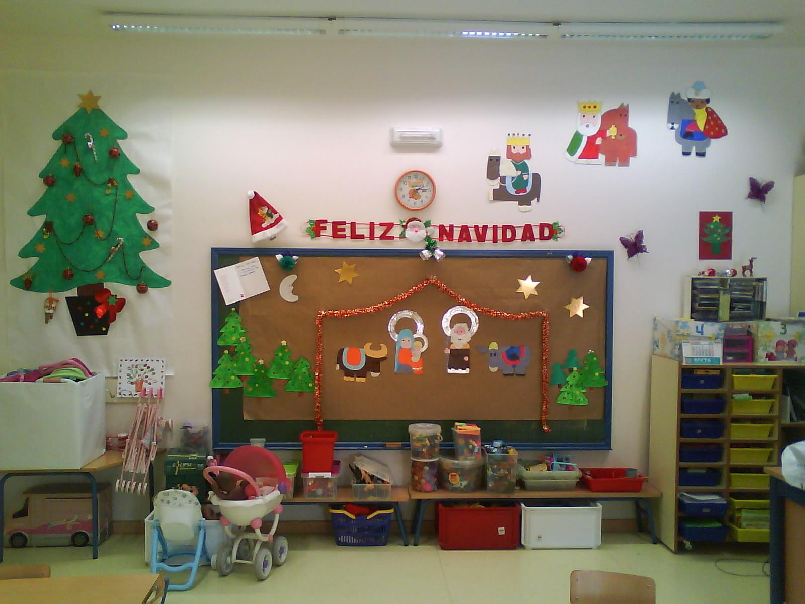 La se o maril y sus ni os decoraci n navide a - Decoracion navidad infantil ...