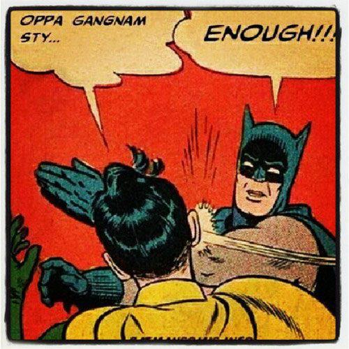 gangnam style, funny pictures, cartoons, batman
