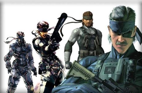 Solid Snake de Metal Gear - Chicos sexys de los videojuegos