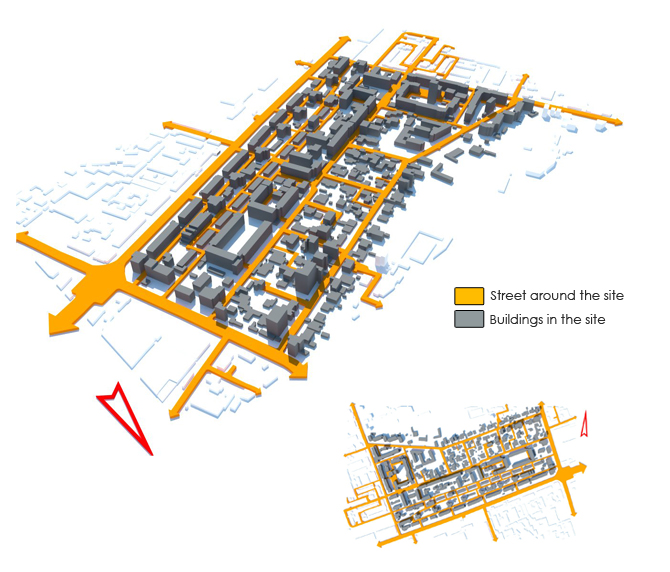 Urban Design Character Analysis : Urban design site analysis academic portfolio