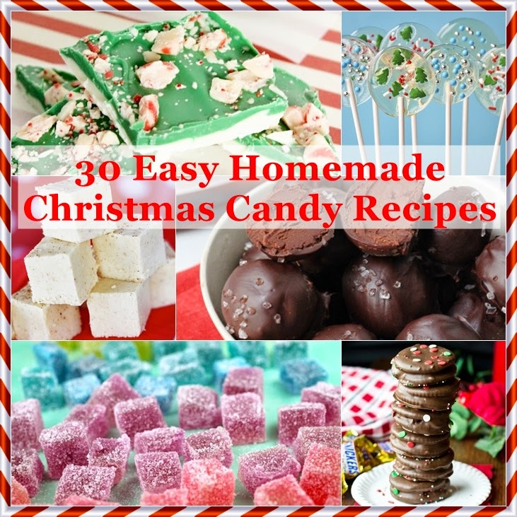 The domestic curator 30 easy homemade christmas candy recipes for Homemade christmas goodies recipes