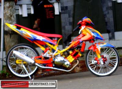 Drag Yamaha Vixion 2012