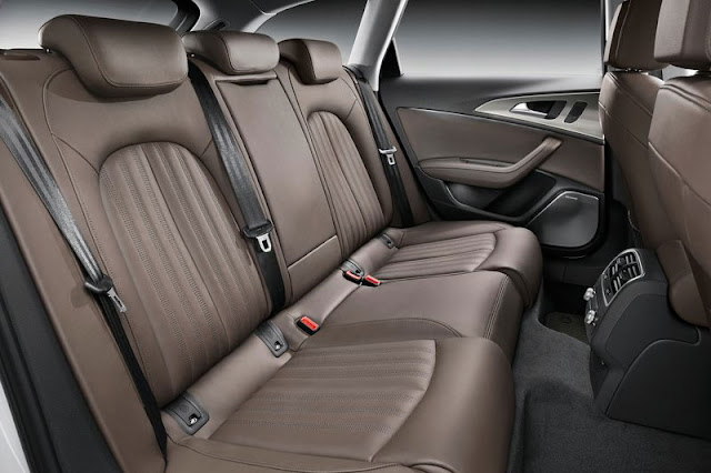 2013 Audi A6 Allroad Quattro Back sit Interior