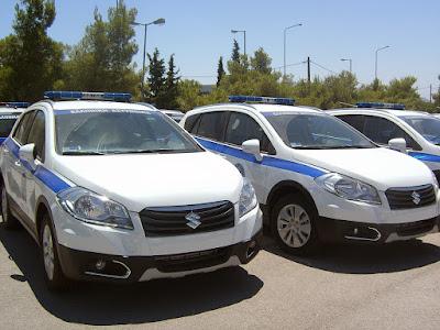 Τα νέα Suzuki S-CROSS περιλαμβάνονται πλέον στις τάξεις της Ελληνικής Αστυνομίας