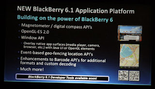 BlackBerry OS 6.1 Firmware unveiled