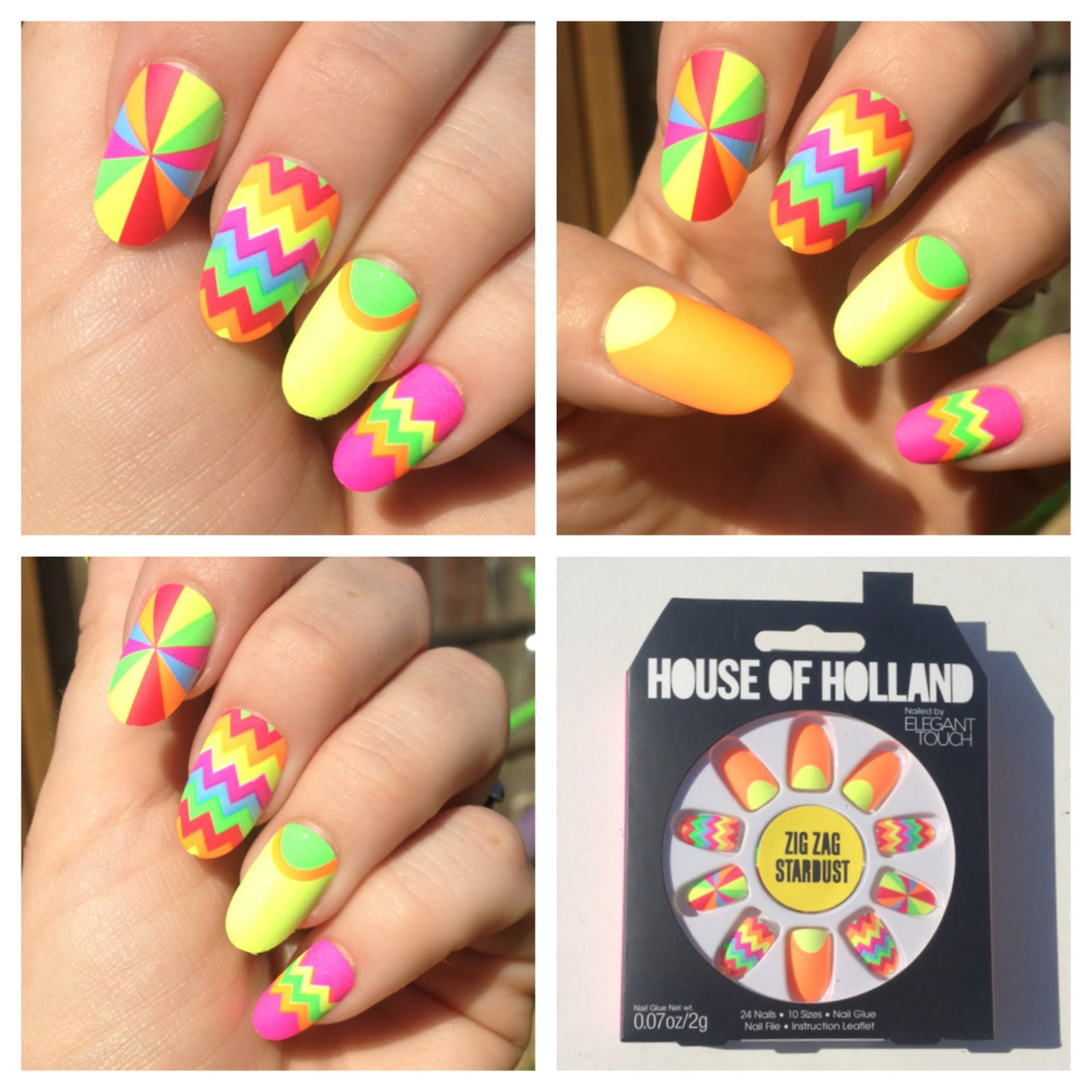 Nail Newbie: House of Holland Nails for Elegant Touch