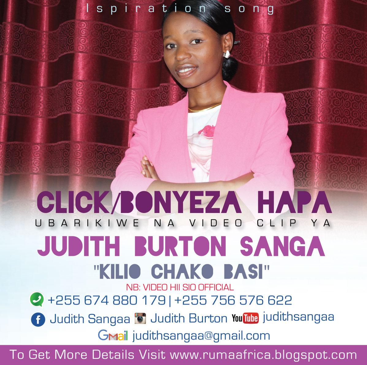 JUDITH SANGA - KILIO CHAKO BASI - DEMO VIDEO CLIP