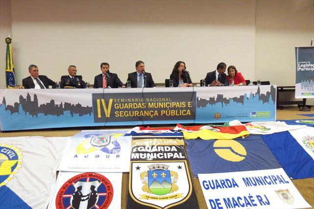 Trabalho da Guarda é destaque em seminário na Câmara Federal